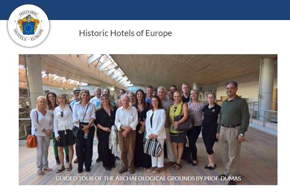 Historic Hotels of Europe Awards Ceremony 2017
