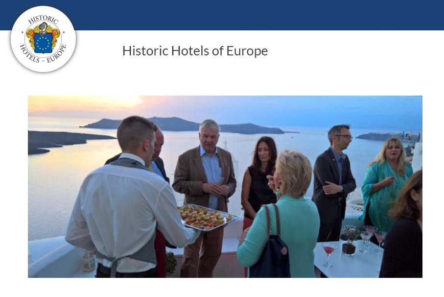 VSN HUB at Historic Hotels of Europe Awards Ceremony 2017