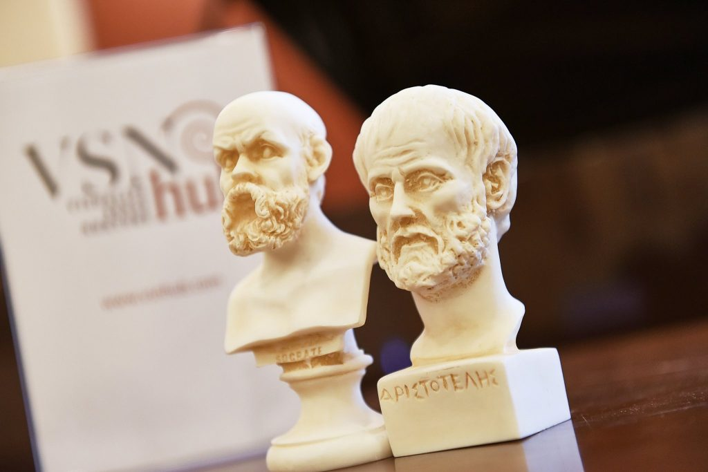 Plato Philosophical Open Dialogue at Athens University Museum by VSN HUB