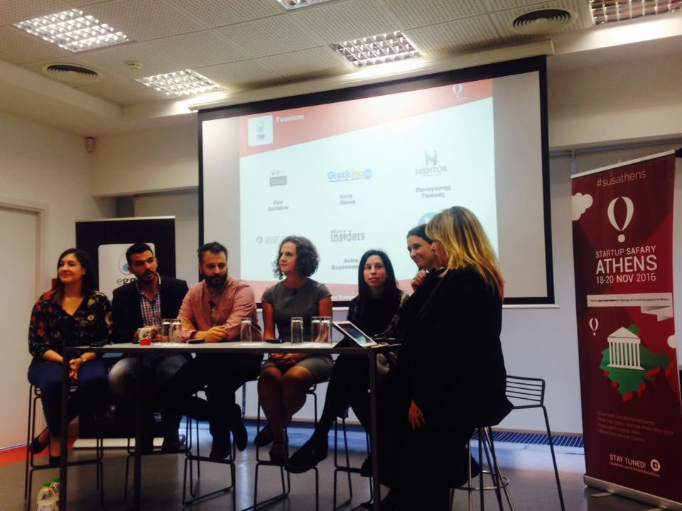 Startup Safary Athens VSN HUB Vicky Evangeliou