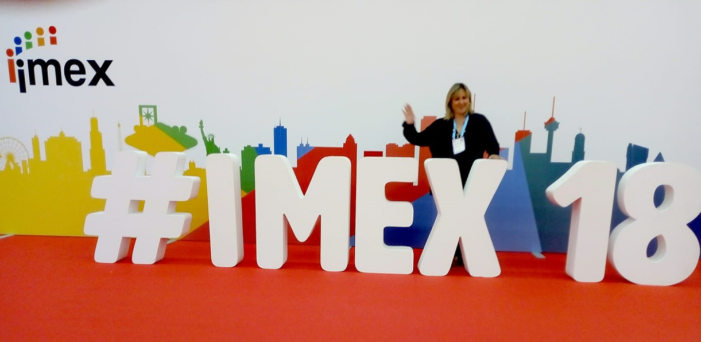 VSN HUB and Vicky Evangeliou at IMEX Tradeshow in Frankfurt on 15-17 May 2018 as Hosted Buyer from Greece