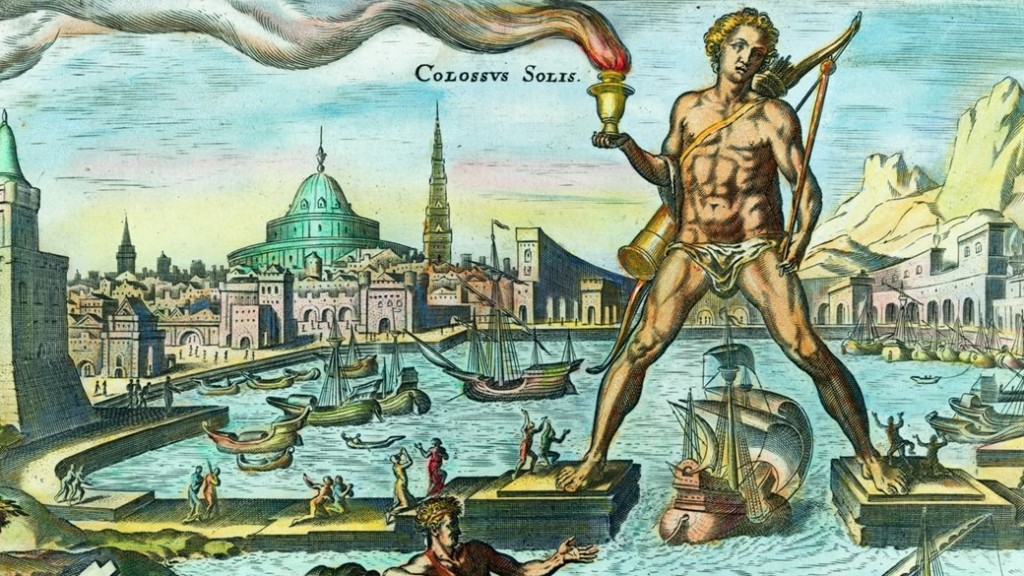 The Revival of the Colossus of Rhodes by George Barboutis at VSN HUB